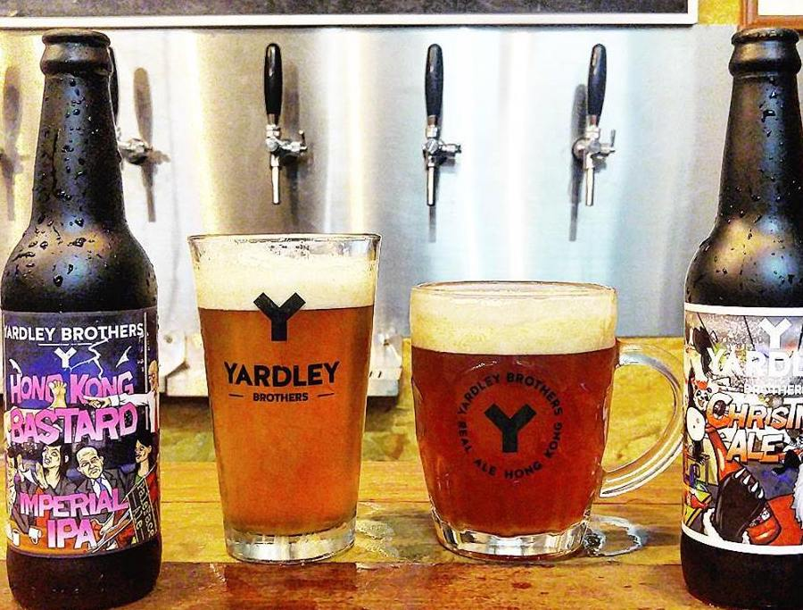 Yardley Brothers Beer Hong Kong craft beers