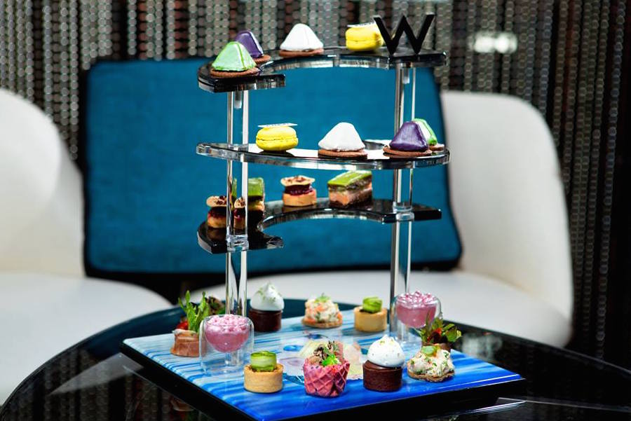 where to go for afternoon tea in Hong Kong afternoon tea W Hong Kong WOOBAR