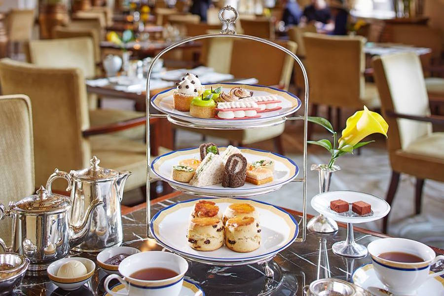 where to go for afternoon tea in Hong Kong afternoon tea at The Peninsula hotel