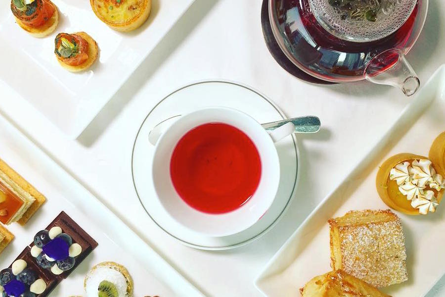 where to go for afternoon tea in Hong Kong afternoon tea at Upper House Cafe Deluxe