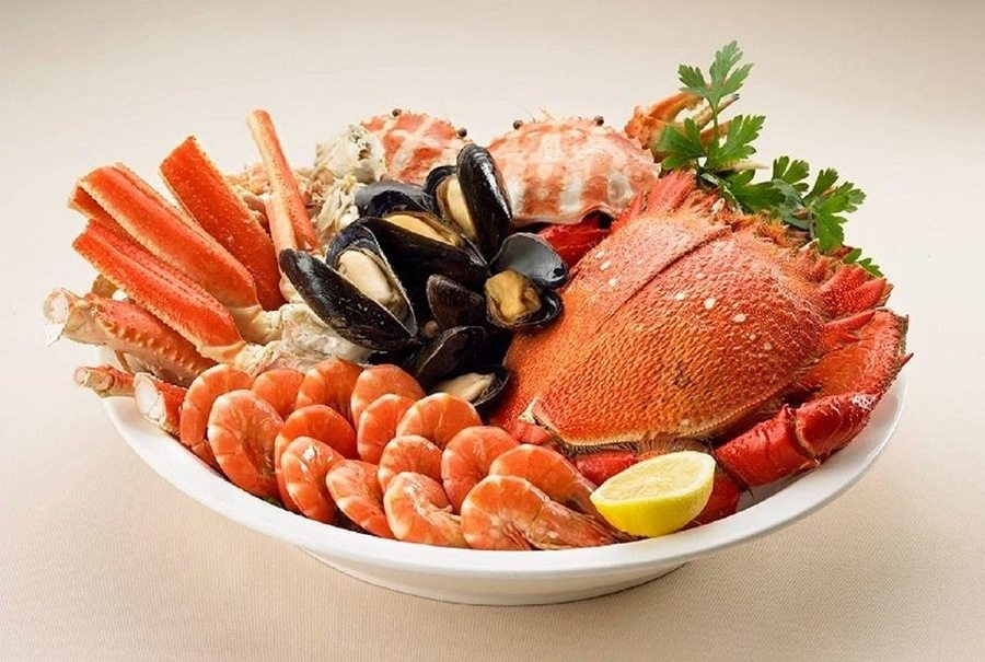 best dinner buffets in Hong Kong The Greenery seafood