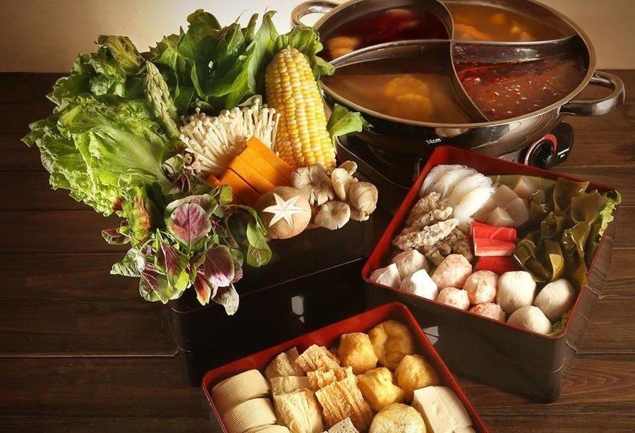 best dinner buffets in Hong Kong vegan hot pot pure veggie house