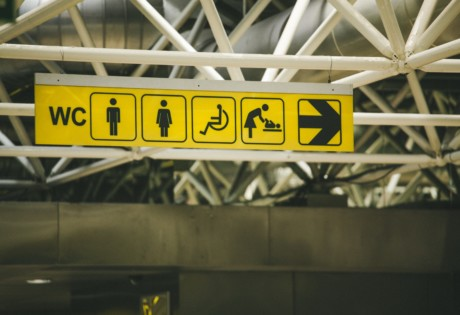 best public toilets in Hong Kong public toilet sign