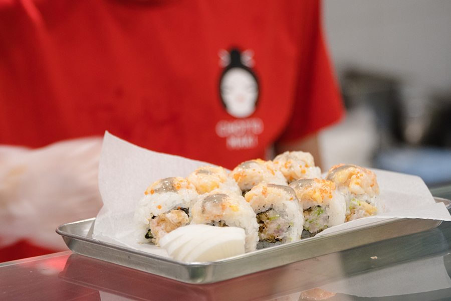 chotto maki sushi Central truffle mayo sushi