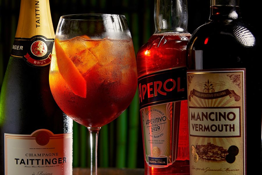 best happy hours in Hong Kong aperol