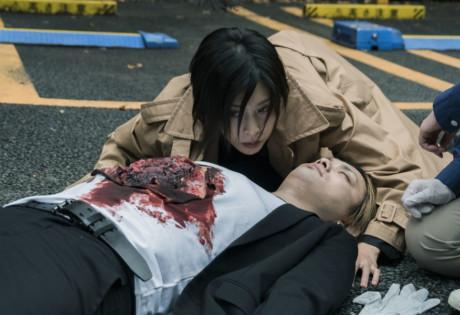 review of Miss Sherlock Sherlock leaning over dead body