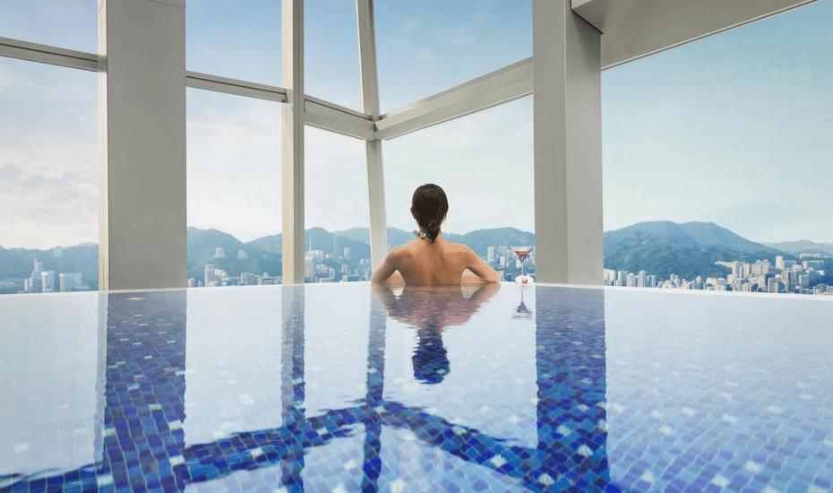 swimming pools in hong kong the ritz-carlton hong kong hotel swimming pool