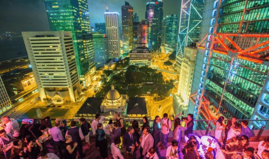 rooftop bars in hong kong sevva