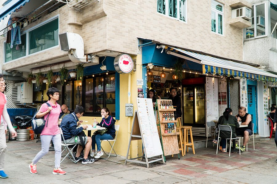 what to do in Cheung Chau The Pink Pig