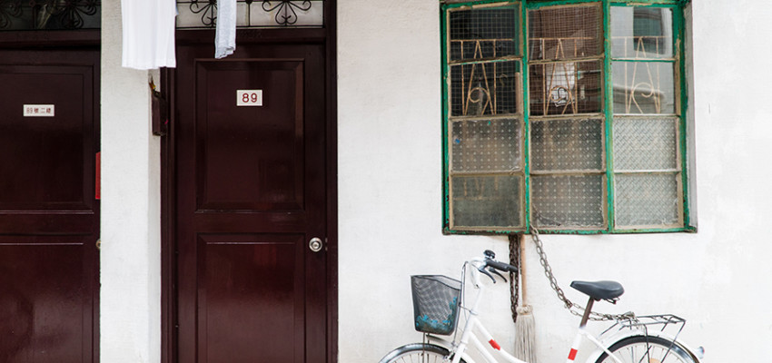what to do in Cheung Chau bike next to house