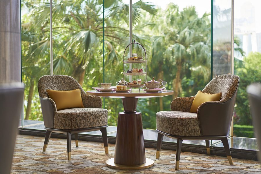 where to get afternoon tea in Hong Kong afternoon tea at Grand Hyatt Tiffin