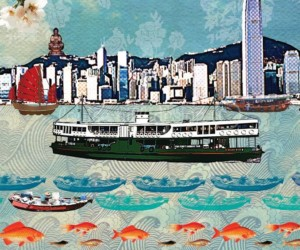 We Love Hong Kong Exhibition by Louise Hill