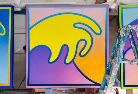 Alex Israel New Waves art exhibitions in Hong Kong in June