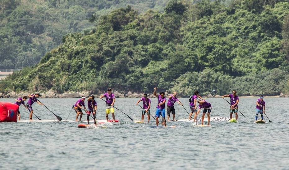 watersports in hong kong paddleboarding