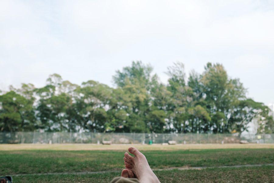 Lok Fu Service Reservoir Rest Garden picnic spots in Hong Kong