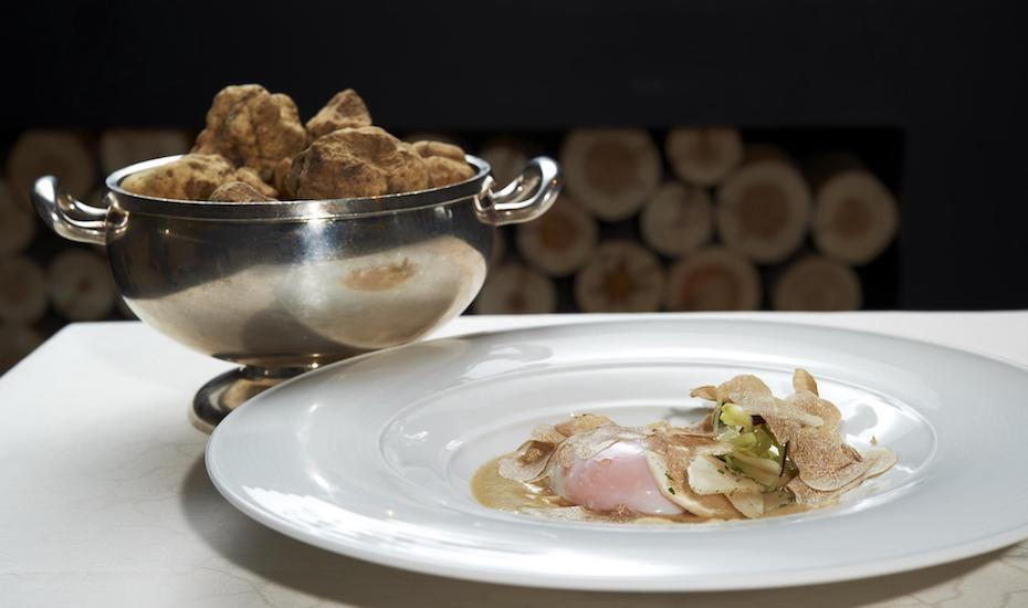 Italian restaurants Italian food Otto e Mezzo Bombana truffle