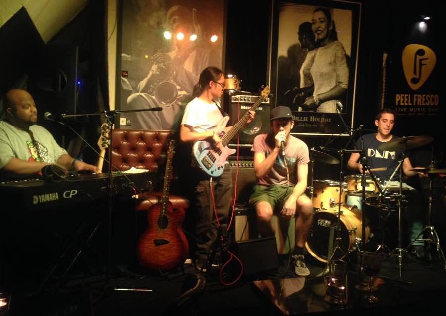 Peel Fresco live jazz jazz bars Hong Kong