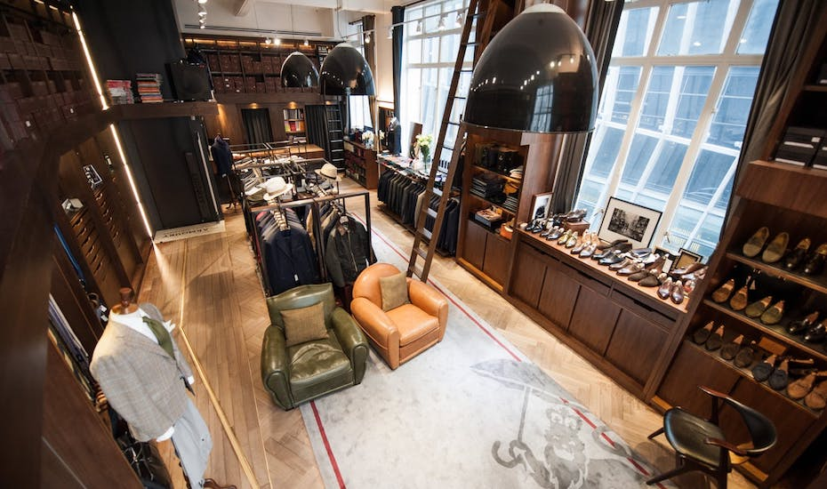 tailors in hong kong the armoury pedder interiors