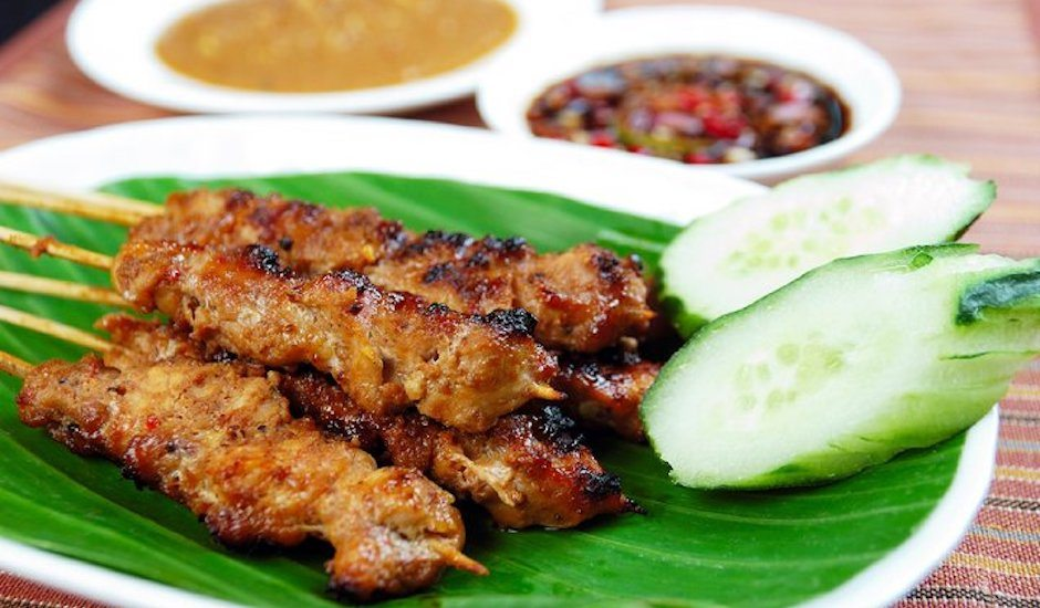 Halal restaurants in Hong Kong Halal food Warung Malang sate ayam chicken satay