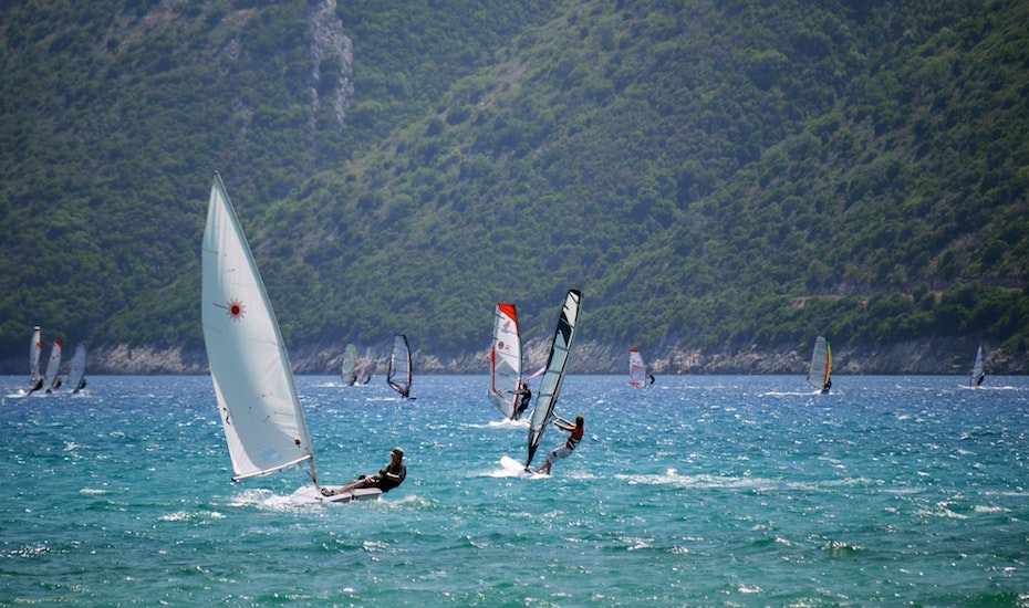water sports in hong kong windsurfing