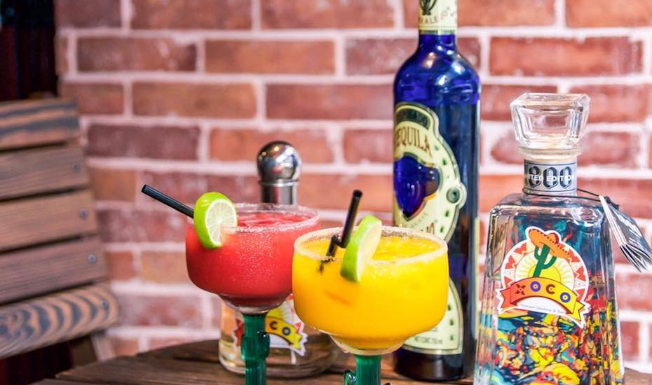 Mexican restaurants in Hong Kong XOCO cocktails