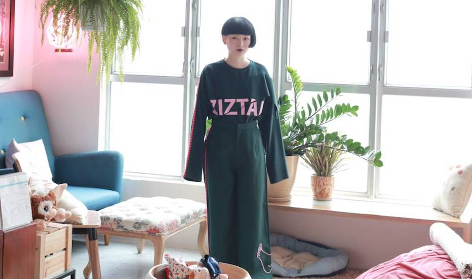 Hong Kong fashion brands Ziztar lookbook