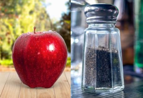 apple black pepper weird food combinations