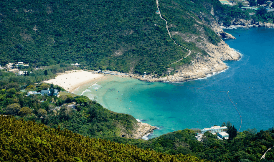 best beaches in hong kong big wave bay