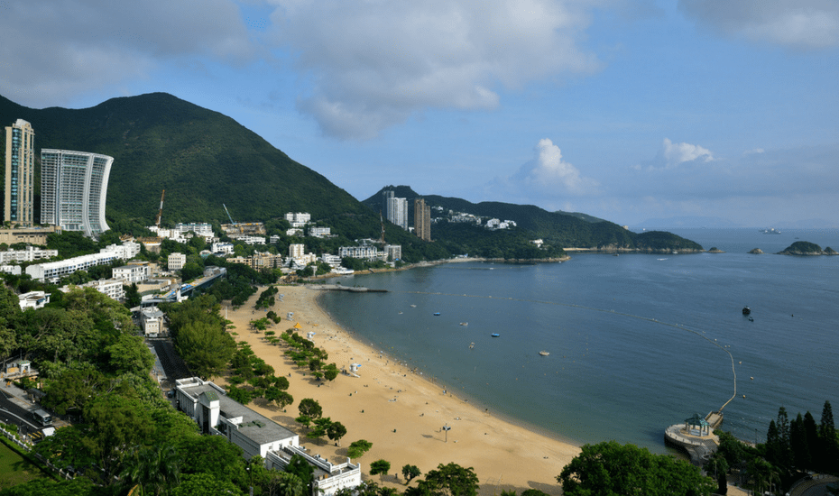 best beaches in Hong Kong repulse bay