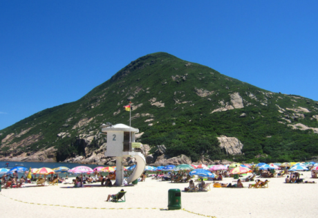 best beaches in hong kong shek o
