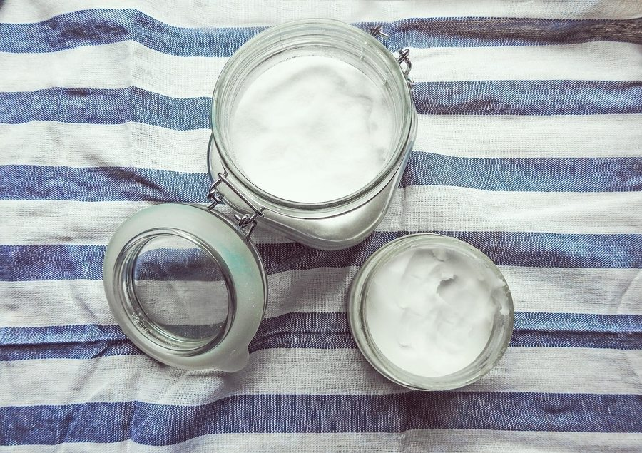 best natural beauty coconut oil in jar