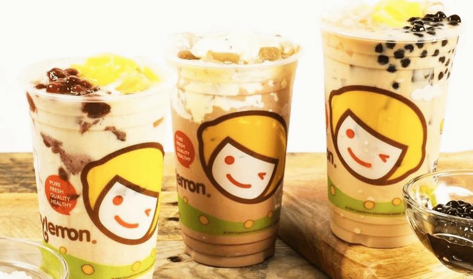 bubble tea in hong kong freshtea by happy lemon