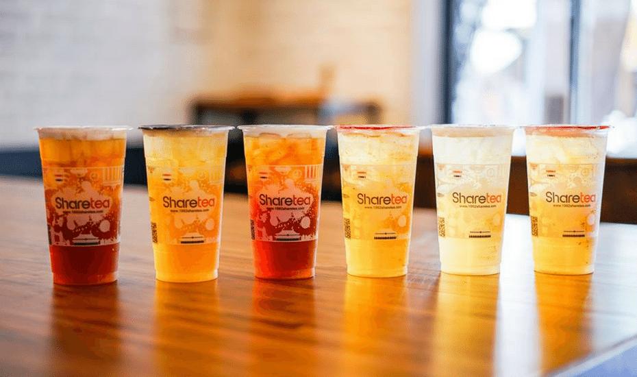 bubble tea in hong kong sharetea