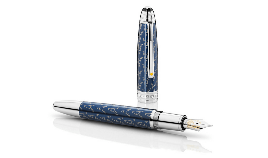 father's day gift guide montblanc fountain pen