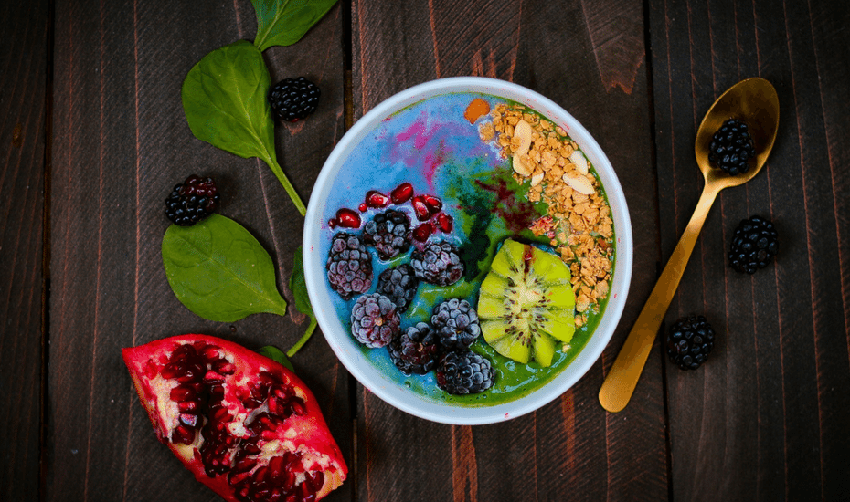 nutritionists in hong kong healthy food smoothie bowl