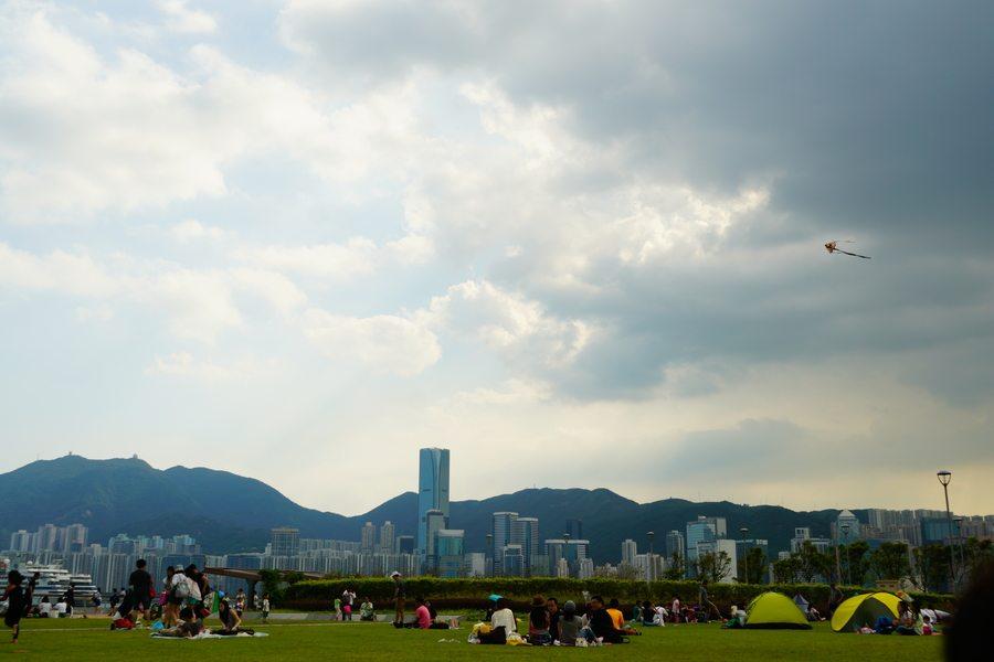 picnic spots in Hong Kong Kai Tak Cruise Terminal Park