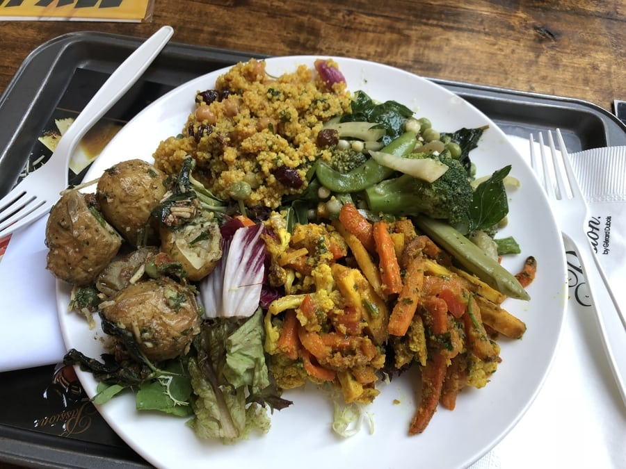 salads in Hong Kong vegan vegetarian food passion by gerard dubois