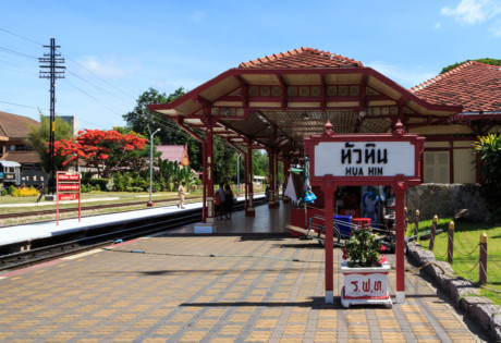 things to do in Hua Hin railway station