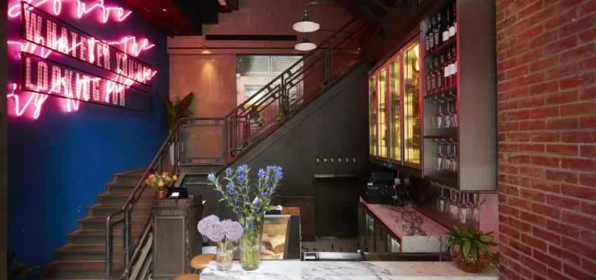 Blue Butcher & Meat Specialist interior of restaurant