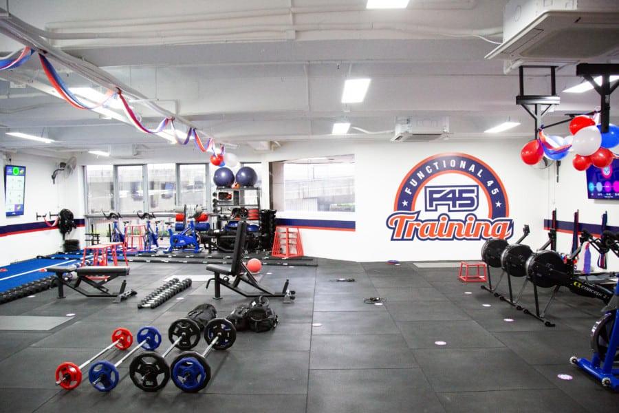 F45 Sai Ying Pun Hong Kong gym
