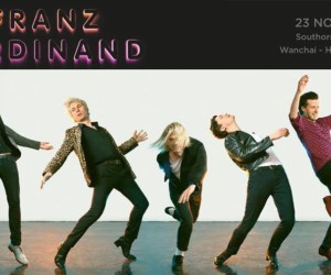 Franz Ferdinand live in Hong Kong concerts gigs rock music