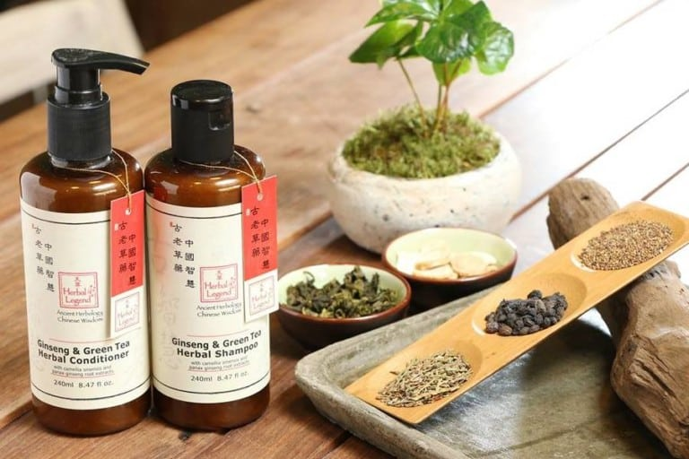 Herbal Legend hair care products: We treated our hair to some ancient Chinese herbology