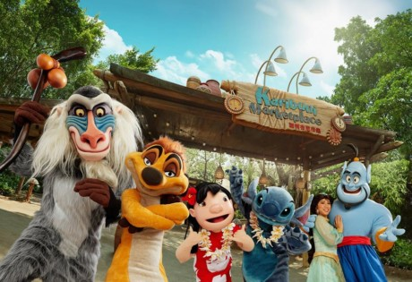 Hong Kong Disneyland Carnivale of Stars Make a Splash