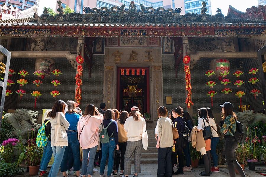 Hong Kong tram tour Pak Tai Temple