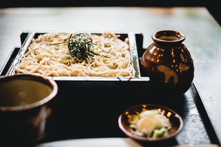 Japanese restaurants in Hong Kong noodles