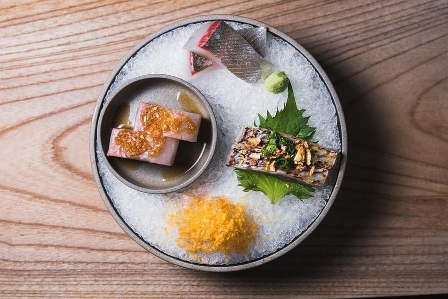 Japanese restaurants in Hong Kong Ronin sashimi