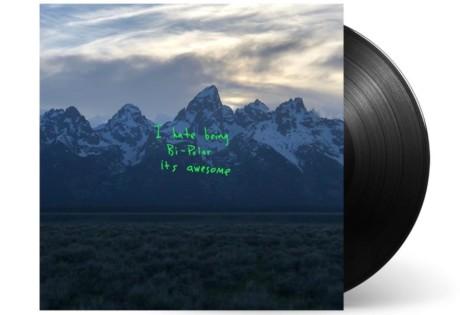 Kanye West's Ye album cover