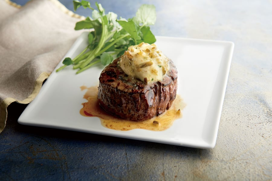 Morton's the Steakhouse wagyu fliet mignon