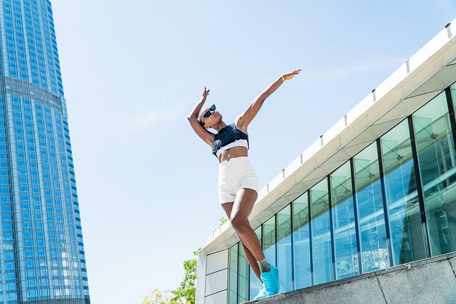Reanne Moe dancer Hong Kong IFC
