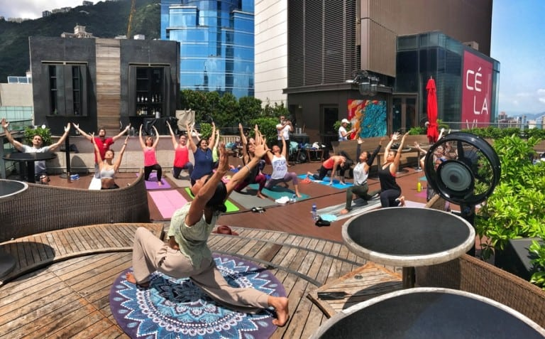 Wellness month at CÉ LA VI Hong Kong: Get ready to stretch, feel the burn, relax and sleep better